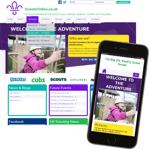 2016 Scout Website Theme