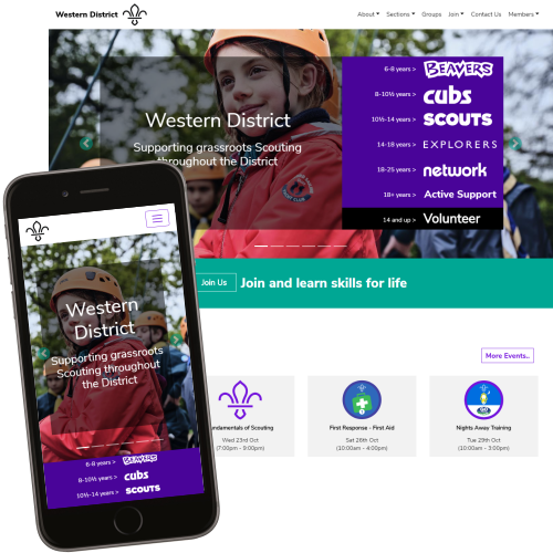 2019 Scout Website Theme