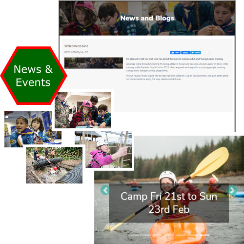 Promote Scouting News and Events