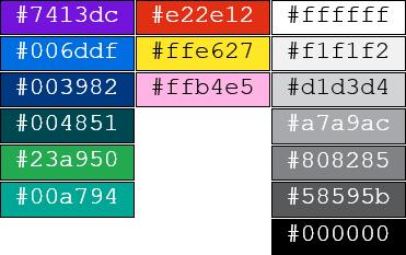 TSA Colours