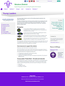 District Young Leaders Page