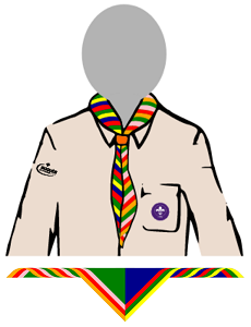 Configurable Neckerchief Colours
